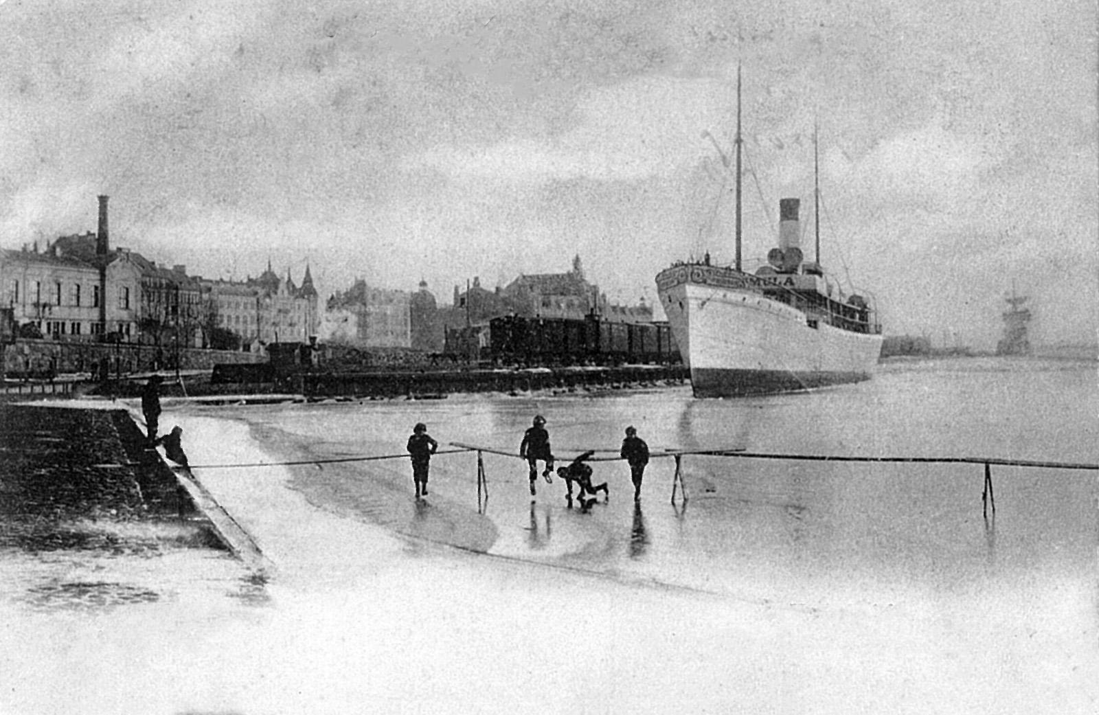 Merellisiä kuvia 1800 luvulta
